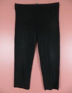 PNS1325- EXCLUSIVELY MISOOK Women's Signature Stretch Knit Dress Pants Black LP