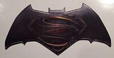 2x Batman vs Superman 5.5 Color Logo Car/Truck Window Vinyl Sticker Decal DC JDM