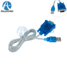5PCS USB to RS232 Serial Port 9 Pin DB9 Cable Serial COM Port Adapter Converter