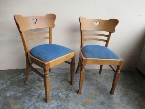 2 mal alter Frankfurter Stuhl gepolstert