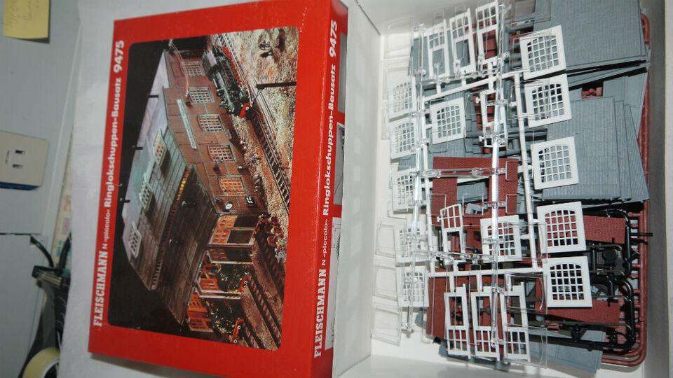 Fleischmann 9475 Byggesæt Remisse til drejeskiv...