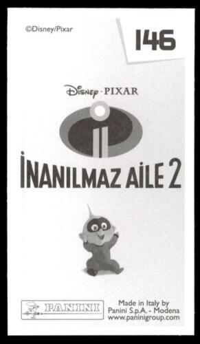 146 No Panini Incredibles 2 Sticker