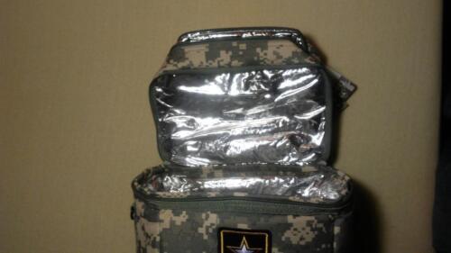 Official Licensed US Army Digital camo Refroidisseur Sac /& Sangle d/'Épaule Réglable