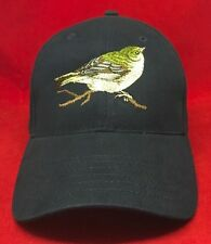 Greenfinch Bird Embroidered  Baseball Hat Cap