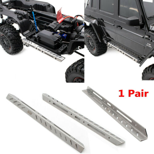 2pcs KYX Metal Side Step Guard Running Board Pour Traxxas TRX-6 Benz 6×6 RC Car
