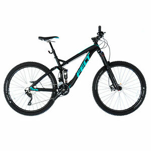 "Felt Decree 30 Trail 27.5 Full Suspension MTB Mountain Bike / 20"" Large / Black"