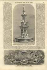 1858 Memorial Fountain Oxford King Alfred Princess Woronzoff Russia Diadem