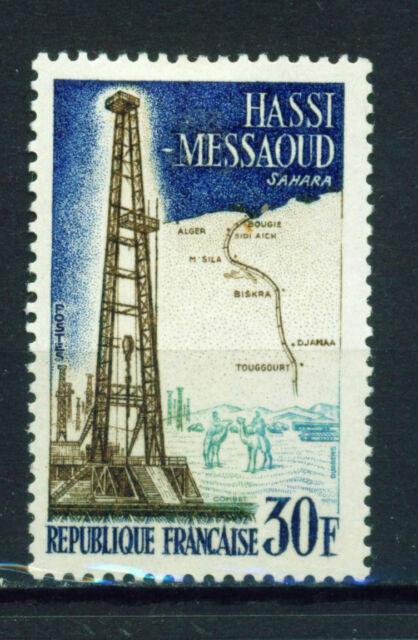 France Sahara Hassi Messaoud Petroleum Oil Exploration stamp 1959 MLH