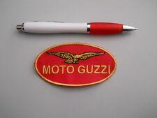 toppa patch moto guzzi embroidery ricamato termoadesivo cm 9 x 5