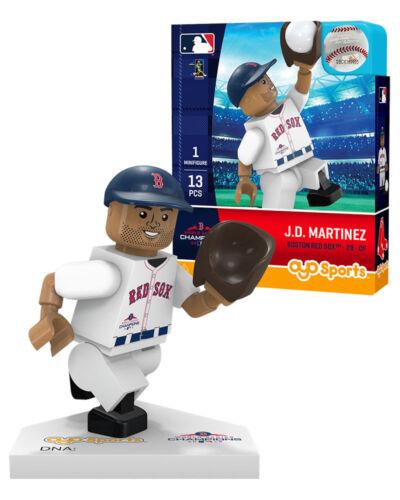 JD MARTINEZ #28 2018 WORLD SERIES CHAMPIONS BOSTON RED SOX OYO MINIFIGURE