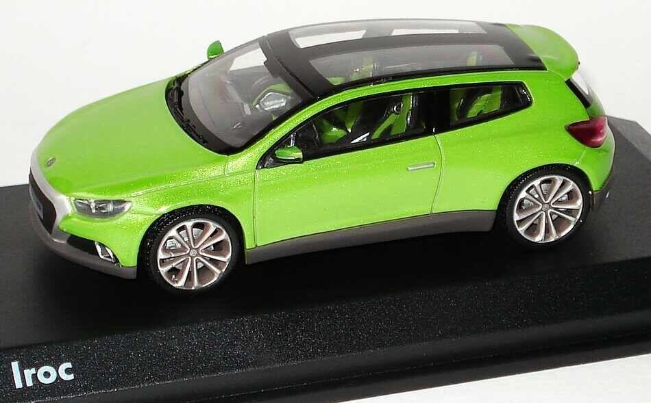 RARO VW VW VW Iroc SCIROCCO R 2.0T 2009 Viper verde CONCEPT 1:43 Norev  modello concessionario  869fcc