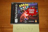 Crash Bandicoot 2 (PS1 PSX Playstation) NEW SEALED BLACK LABEL HOLO COVER MINT!