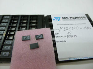 2 x M28C64-15 6 STM 64 Kbit 8Kx8 EEPROM SOIC 28 Extended Temperature IC