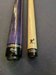 Viking-Pool-Cue-A427-Purple-with-Case