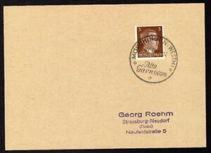 Allemagne-n-706-Yv-cachet-WW2-MORCHINGEN-Timbre-Allemand-Hitler-Mi-782