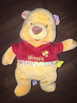 Schmusetuch Winnie Pooh Puuh Bär  Nicotoy unbekuschelt top Zustand