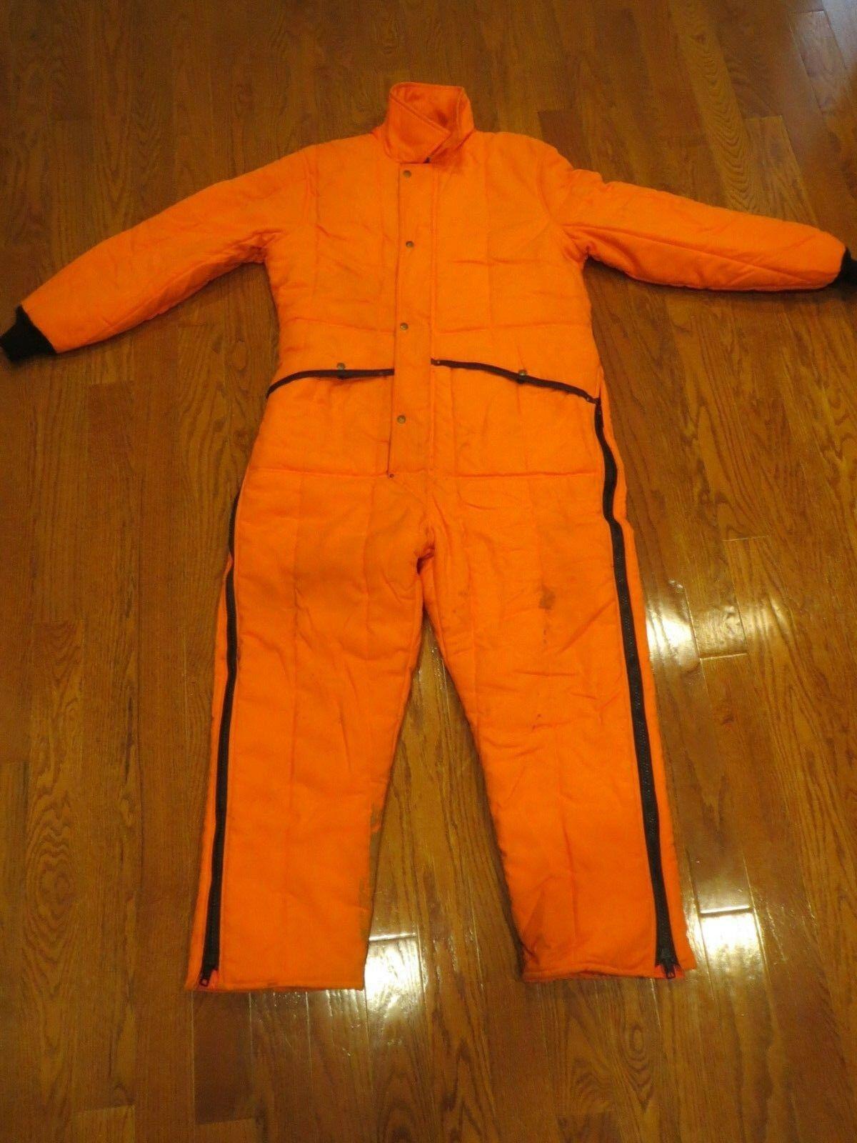 RefrigiWear Men's XL Extra Large Insulated orange Hunting Outfit One Piece