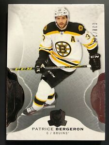 2016-17-Upper-Deck-The-Cup-Patrice-Bergeron-Boston-Bruins-249