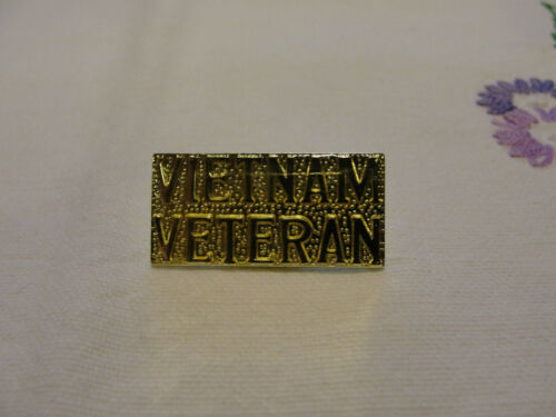 Vietnam Veteran Lapel Pin Military