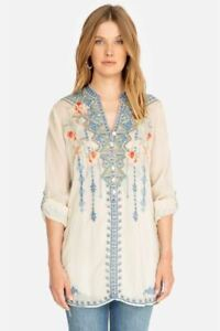 Johnny-Was-Florence-Embroidered-Tunic-Top-Boho-Chic-C26719-NEW
