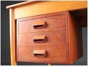 Skrivebord, Børge Mogensen, b: 145 d: 73 h: 73