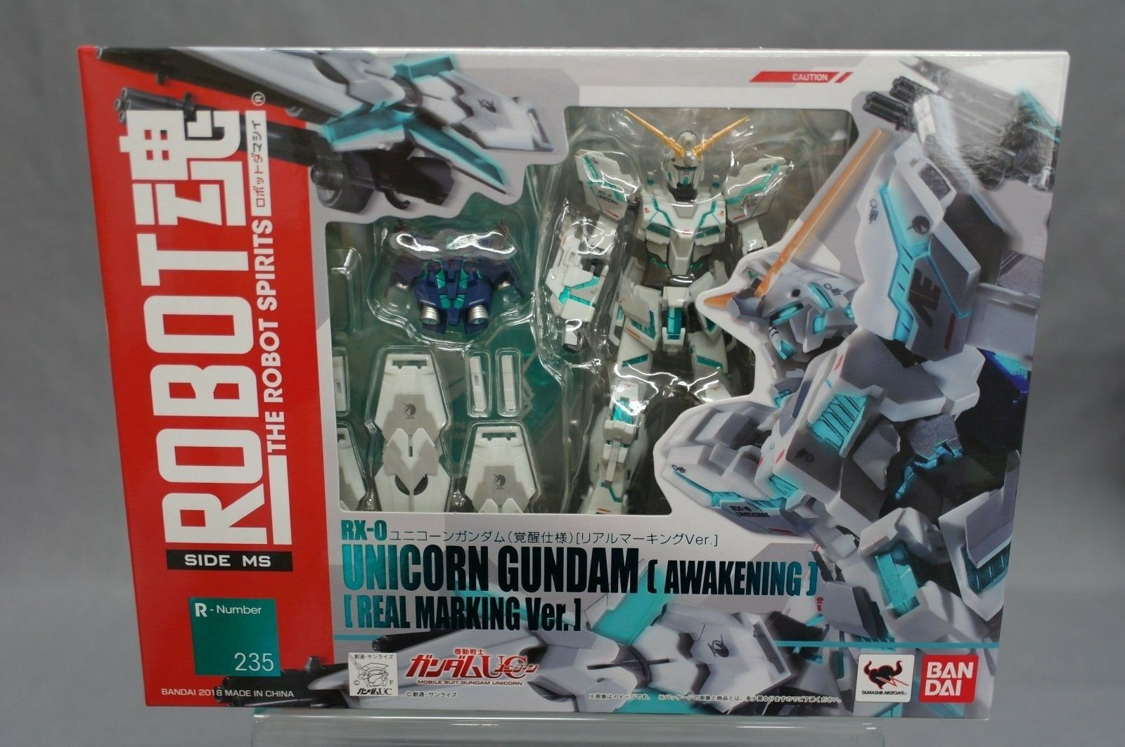 Robots Spirits Side MS 235 RX-0 Unicorn Gundam Awakening Real Marking Bandai USE
