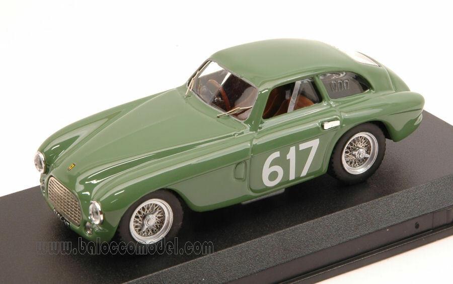 Ferrari 212 Export  617 DNF Mille Miglia 1953 Gerini   Donazzolo 1 43 Model