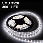 5M SMD 3528 Waterproof 12V 24W 300 LED White Light Decorating Strip Light