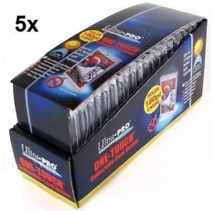100 Ultra Pro One Touch titulares de Grueso Magnético Imán De Oro 180 pinta UV
