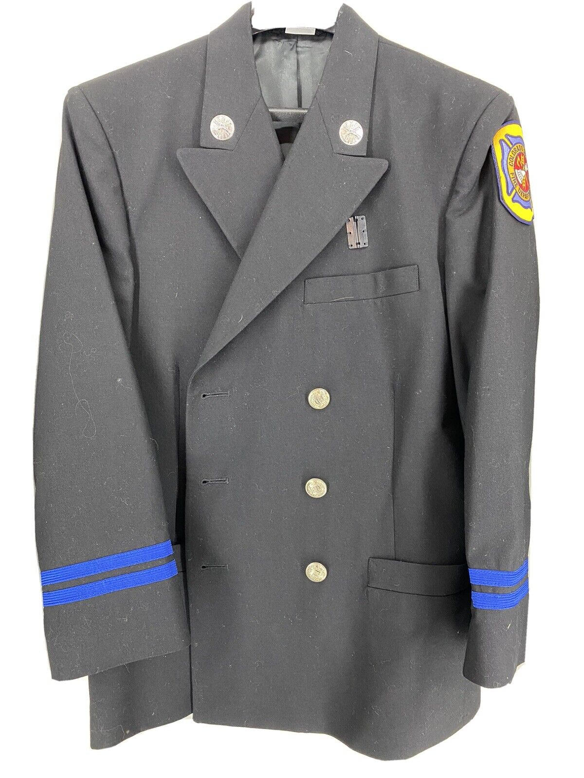 Firefighter Formal Wear Dress Blues With Hat and Accessories 40R
