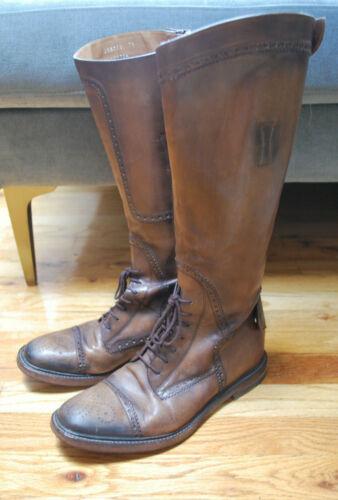 Men's Gucci Brown Equestrian Riding Boots 7.5D 41