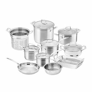 SCANPAN Impact 10 piece Cookware Set RRP $1000.00