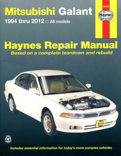 Haynes Workshop Manual Mitsubishi Galant 1994-2012 Service /& Repair