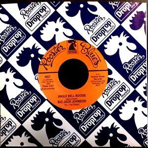 MISSISSIPPI-DELTA-CHRISTMAS-BLUES-45-BIG-JACK-JOHNSON-Jingle-Bell-Boogie