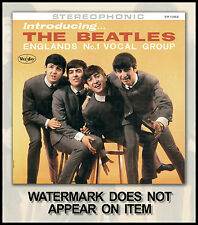 """INTRODUCING THE BEATLES FANTASY ALBUM COVER w/ AD BACK """" #3"""