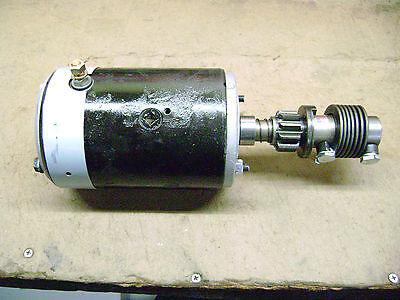 1932-1953 Ford Flathead Starter Restored 6 Volt MINT Ford Script Original