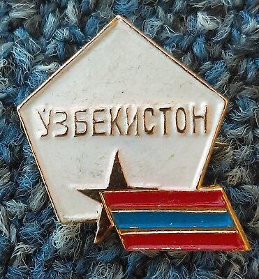 Red Star Lapel Pin Badge Five-pointed Pentagram Communism Communist Symbol CCCP