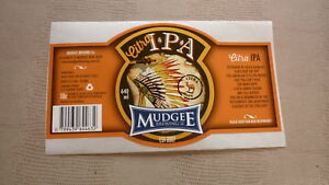 AUSTRALIAN-COLLECTABLE-BEER-LABEL-MUDGEE-BREWERY-NSW-CITRA-IPA