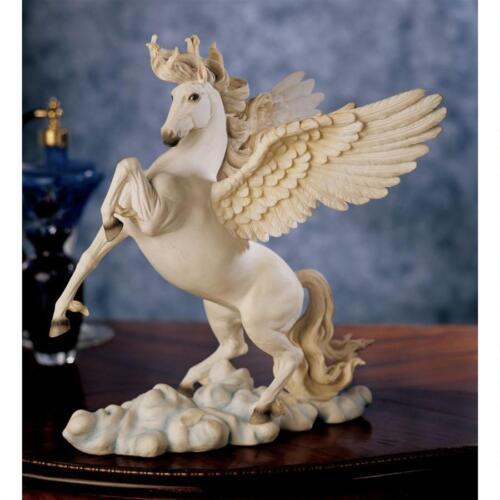 Greek Winged Divine High Spirited Horse Pegasus Sculpture Mythological Statue