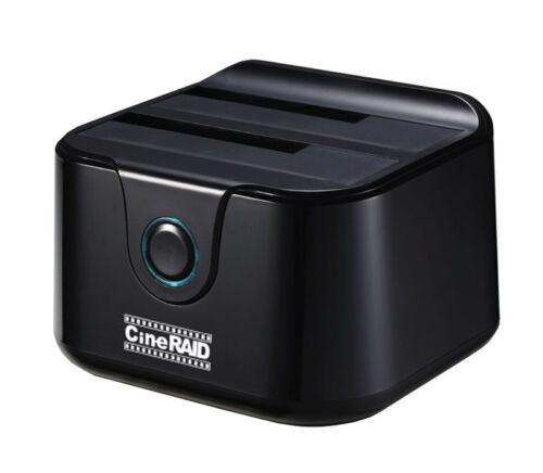 CineRAID CR-H236 Home Series USB 3.0 Dual Bay Hard Drive Dock