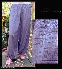 Harem Pants Belly Dance Lavender Purple Sparkle