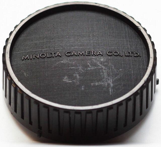 Minolta Rear Lens Cap For MD Mount Lenses Genuine Original Made in Japan