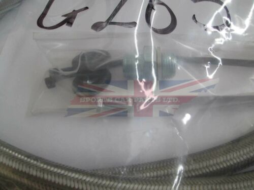 New MGA MGB Oil Cooler Kit 1955-1974 Stainless Lines Hardware /& 13 Row Cooler
