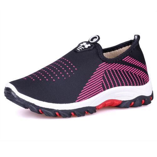 Damen Turnschuhe Laufschuhe Slip On Sneaker Walkingschuhe Sportschuhe Freizeit