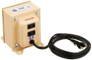 NEW-NISSYO-NDF-1500U-Down-Transformer-Converter-120V-to-100V-1500W-from-JAPAN