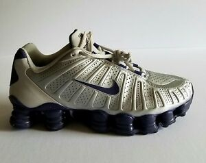 quality design 197d3 bf759 Details about NIKE SHOX TLX RUNNING SHOES WOMEN SILVER SIZE 9 US DEADSTOCK