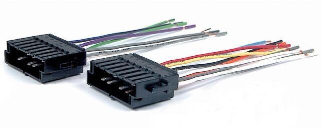 for VOLVO V70 1998-2000 Scosche Aftermarket Radio Wiring Harness W Plug