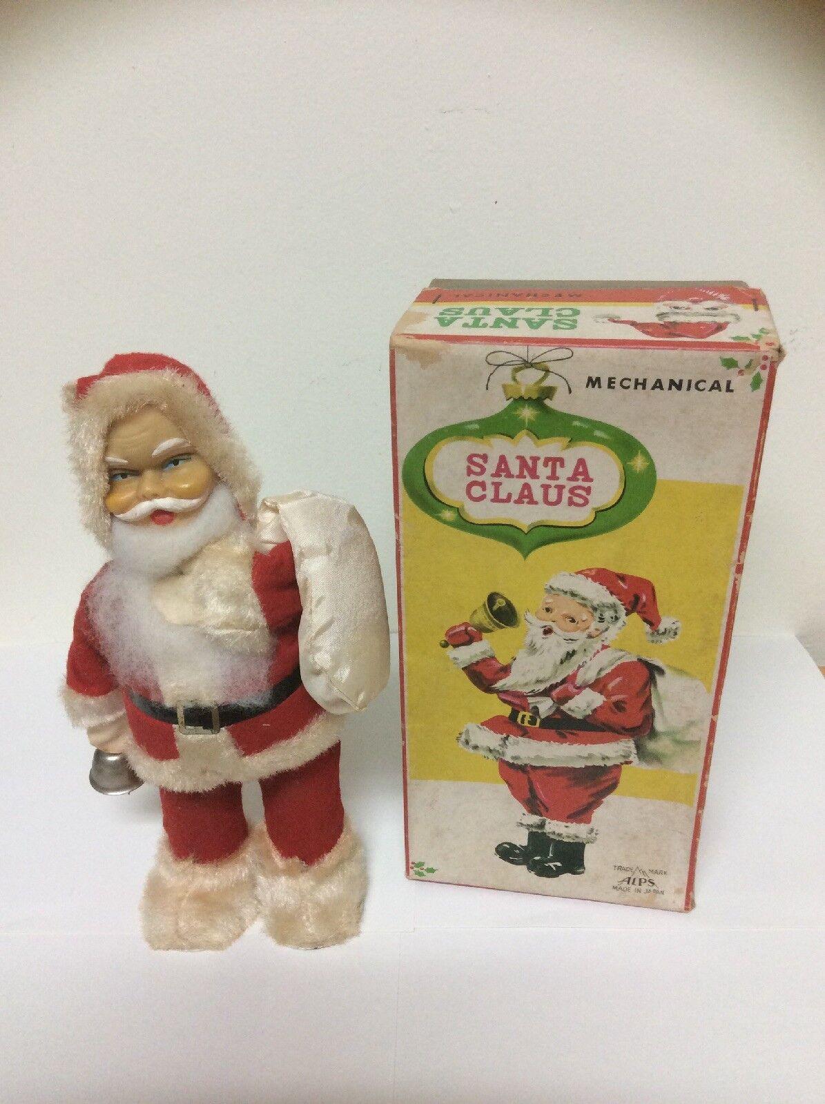 Mechanicl Santa Claus Wind Up Juguete