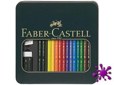Faber-Castell Polychromos Farbstifte Metalletui Mixed Media 9000-110038