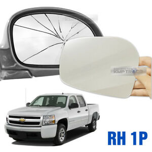 Replacement-Side-Mirror-RH-1P-Adhesive-for-CHEVROLET-1999-07-Silverado